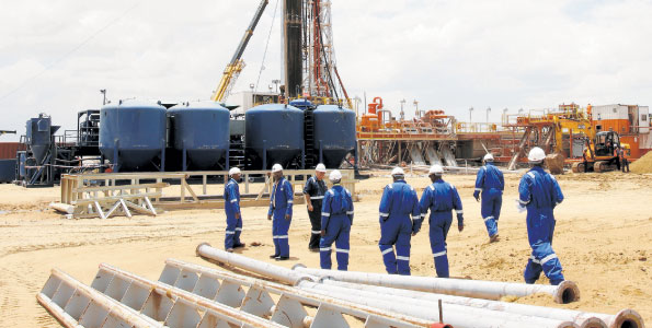 Oil's Well in Kenya